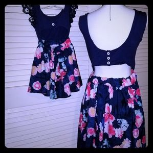 Mother & Daughter Cute Matching Mini Dresses